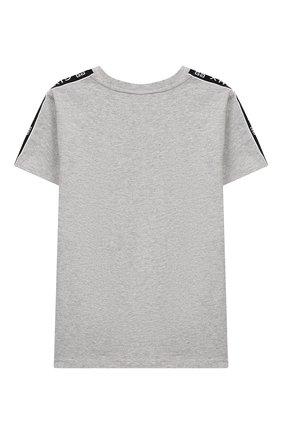 Детская футболка GIVENCHY серого цвета, арт. H25174 | Фото 2