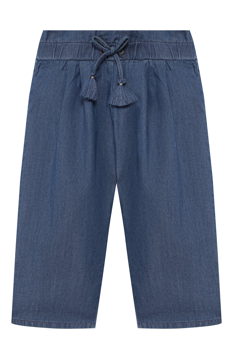 Детские брюки CHLOÉ голубого цвета, арт. C04157 | Фото 1