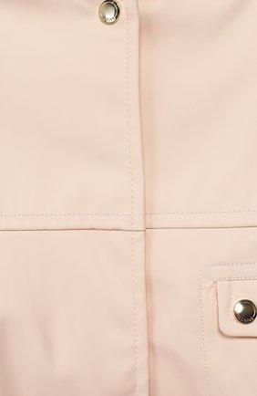 Детского ветровка CHLOÉ розового цвета, арт. C06101 | Фото 3