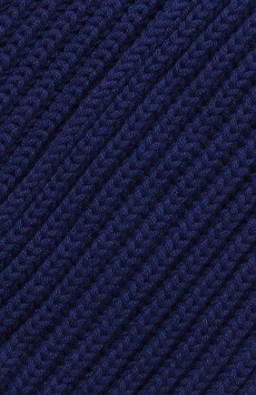 Детский кашемировый шарф LORO PIANA синего цвета, арт. FAF8485 | Фото 2