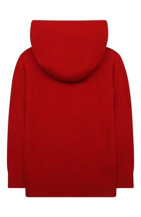 Детский кашемировая толстовка LORO PIANA красного цвета, арт. FAG4729 | Фото 2
