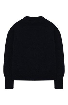 Детский кашемировый пуловер LORO PIANA синего цвета, арт. FAI8426 | Фото 2