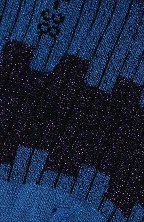 Женские носки FALKE синего цвета, арт. 46324_19_ | Фото 2