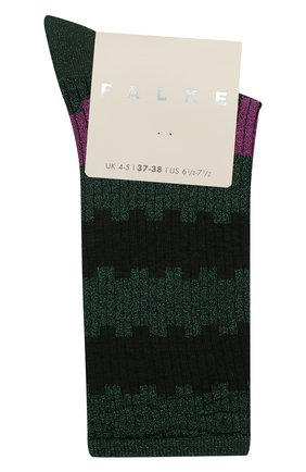 Женские носки FALKE зеленого цвета, арт. 46324_19_ | Фото 1