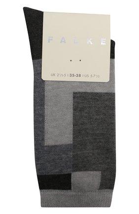 Женские носки marble brick FALKE темно-серого цвета, арт. 46323_19_ | Фото 1