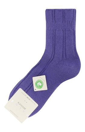 Женские носки bedsock FALKE фиолетового цвета, арт. 47470_19_ | Фото 1