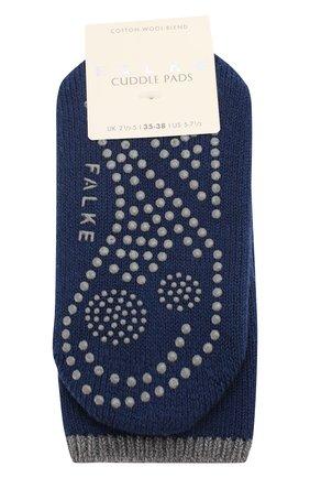 Женские носки cuddle pads FALKE темно-синего цвета, арт. 47540_19_ | Фото 1