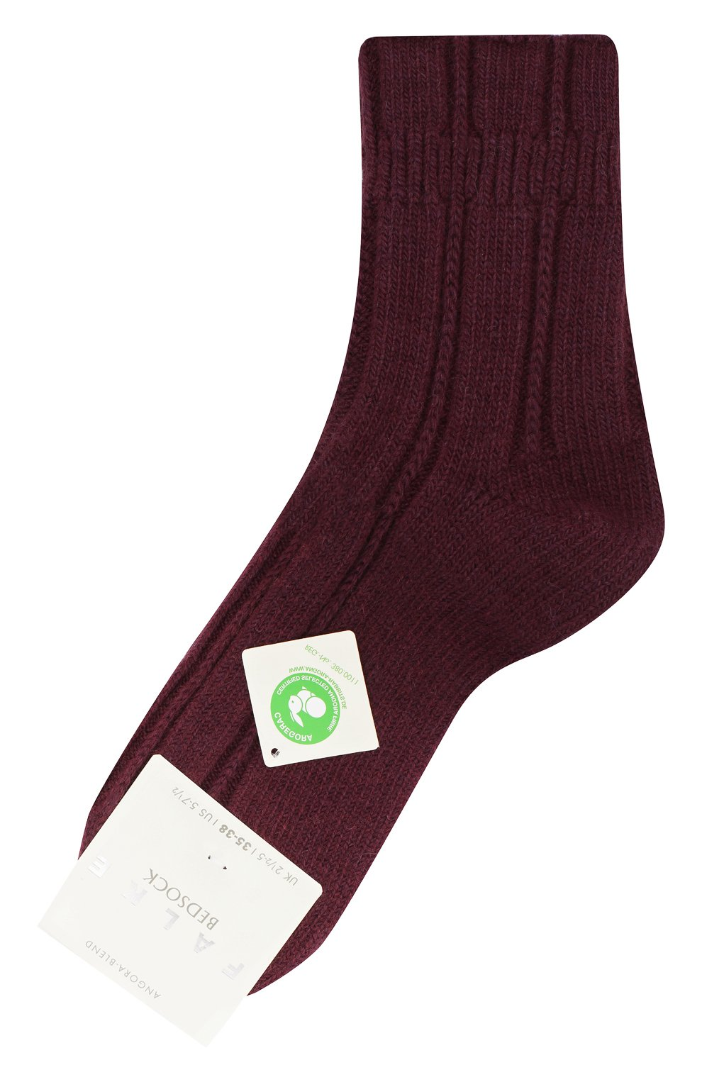 Женские носки bedsock FALKE бордового цвета, арт. 47470_19_ | Фото 1