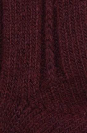 Женские носки bedsock FALKE бордового цвета, арт. 47470_19_ | Фото 2