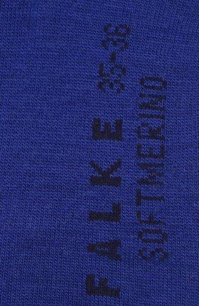 Женские носки softmerino FALKE синего цвета, арт. 47488_19_ | Фото 2
