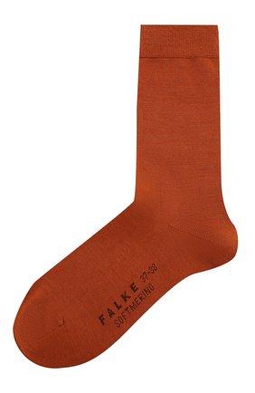 Женские носки softmerino FALKE коричневого цвета, арт. 47488_19_ | Фото 1