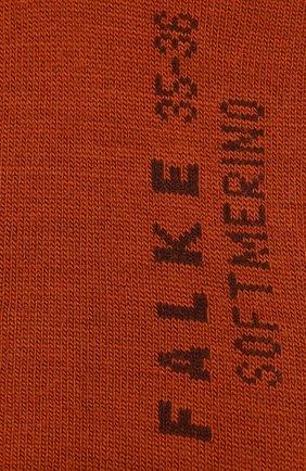 Женские носки softmerino FALKE коричневого цвета, арт. 47488_19_ | Фото 2