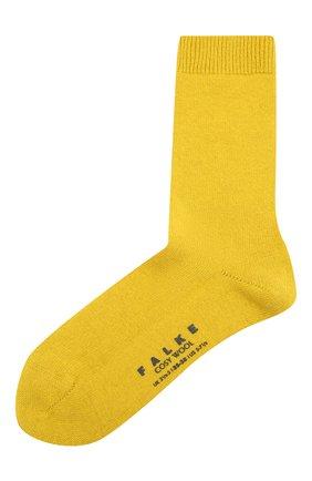 Женские носки cosy wool FALKE желтого цвета, арт. 47548_19_ | Фото 1