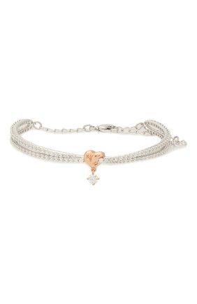 Женский браслет lifelong heart SWAROVSKI серебряного цвета, арт. 5516544 | Фото 1