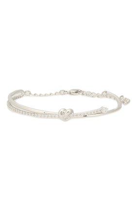Женский браслет lifelong heart SWAROVSKI серебряного цвета, арт. 5517944 | Фото 1