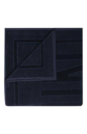 Мужские хлопковое полотенце VILEBREQUIN темно-синего цвета, арт. SANE9200 | Фото 1