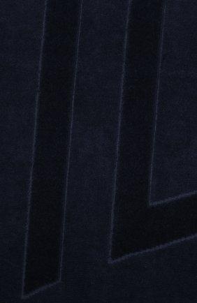 Мужские хлопковое полотенце VILEBREQUIN темно-синего цвета, арт. SANE9200 | Фото 2