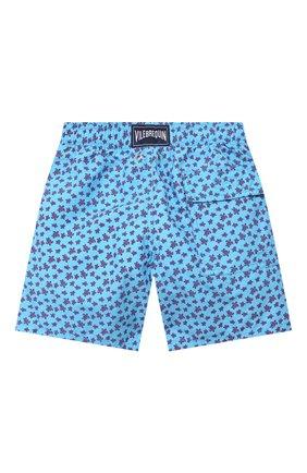 Детские плавки-шорты VILEBREQUIN синего цвета, арт. JIMU0B39 | Фото 2