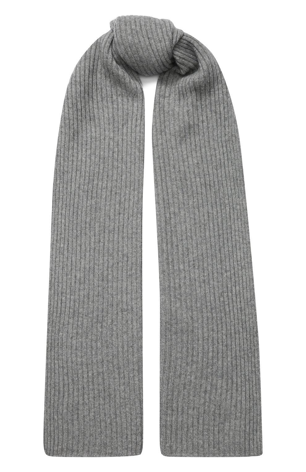 Женский кашемировый шарф NOT SHY серого цвета, арт. 3504039C | Фото 1