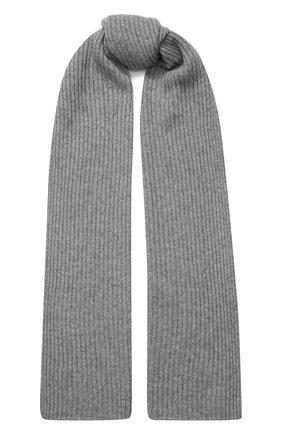 Мужские кашемировый шарф NOT SHY серого цвета, арт. 3504039C | Фото 1