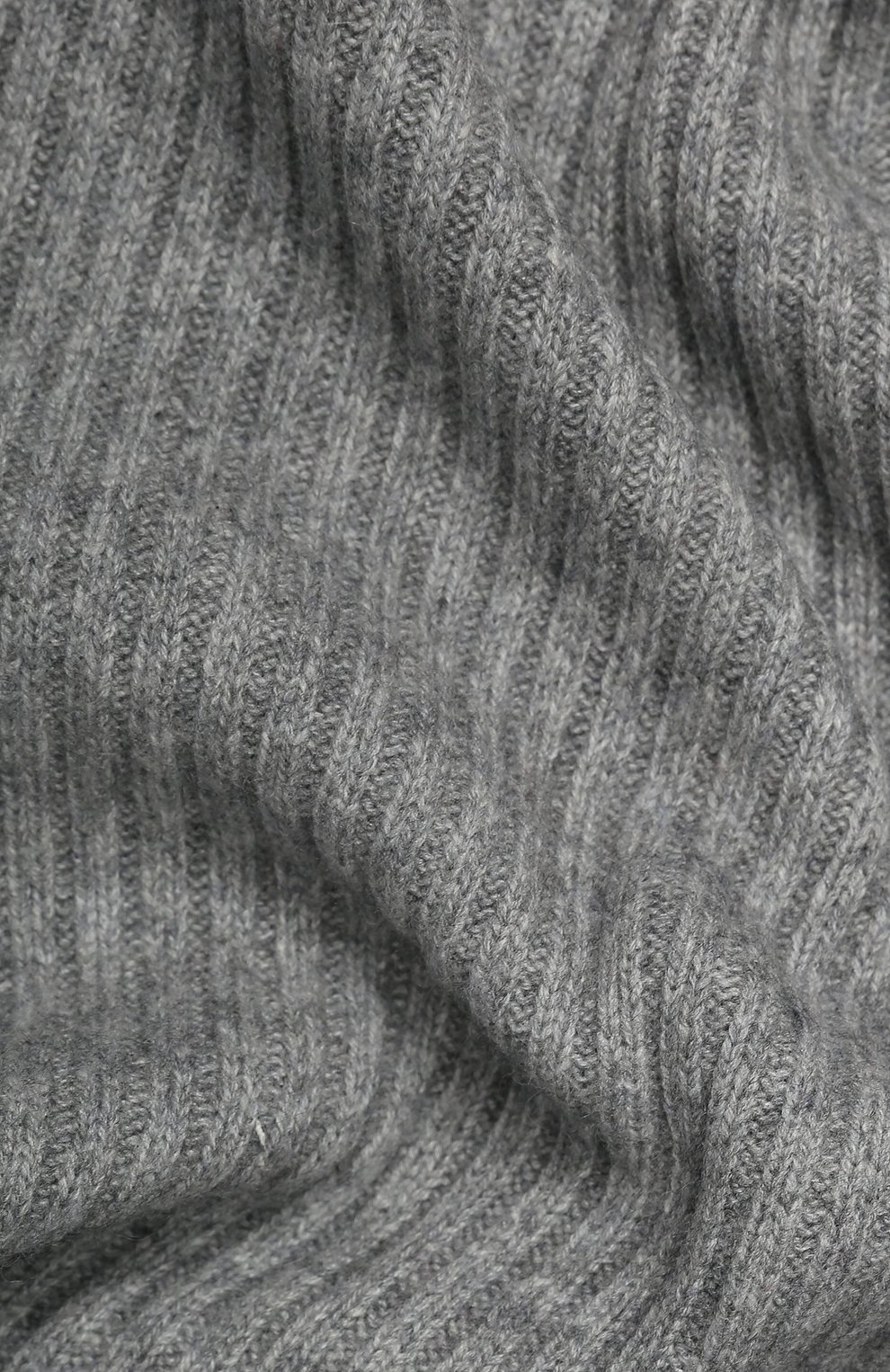 Женский кашемировый шарф NOT SHY серого цвета, арт. 3504039C | Фото 2