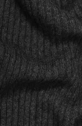 Мужские кашемировый шарф NOT SHY серого цвета, арт. 3504039C | Фото 2