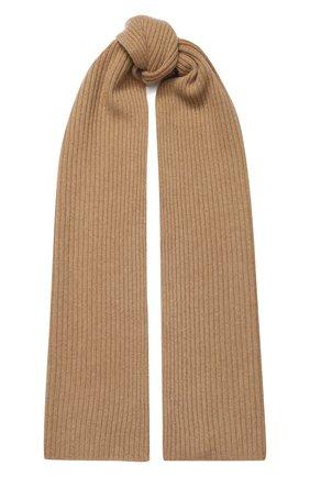 Мужские кашемировый шарф NOT SHY коричневого цвета, арт. 3504039C | Фото 1