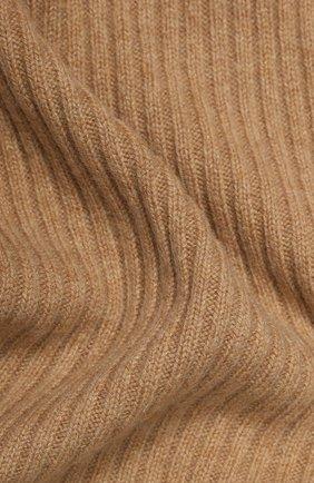 Мужские кашемировый шарф NOT SHY коричневого цвета, арт. 3504039C | Фото 2