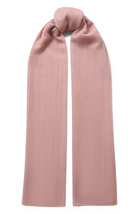 Мужские кашемировый шарф RALPH LAUREN розового цвета, арт. 434563521 | Фото 1