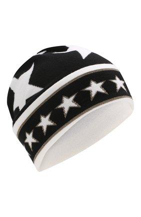 Женская шерстяная шапка DOLCE & GABBANA черно-белого цвета, арт. FX612T/JAMM5   Фото 1