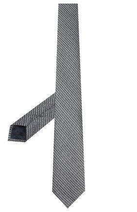 Мужской шелковый галстук ERMENEGILDO ZEGNA голубого цвета, арт. Z7D31/1L7 | Фото 2