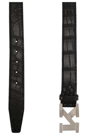 Мужской кожаный ремень KITON черного цвета, арт. USC6PN00102/CNIL | Фото 2
