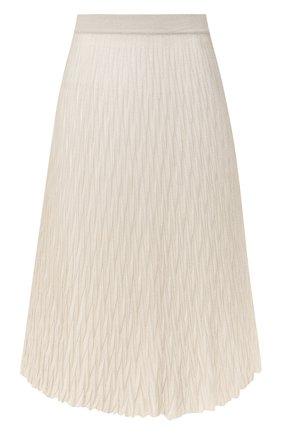 Женская юбка из вискозы MRZ бежевого цвета, арт. S20-0160 | Фото 1