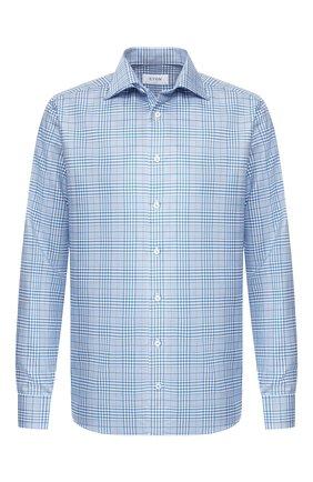 Мужская хлопковая сорочка ETON синего цвета, арт. 1000 00341 | Фото 1