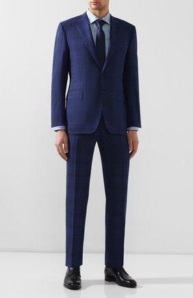 Мужская хлопковая сорочка ETON синего цвета, арт. 1000 00341 | Фото 2