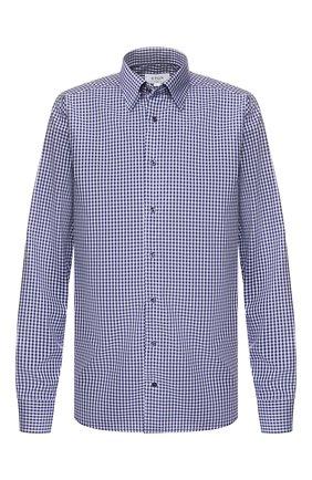 Мужская хлопковая сорочка ETON темно-синего цвета, арт. 1000 00361 | Фото 1