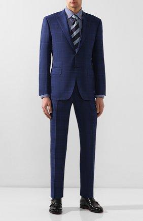 Мужская хлопковая сорочка ETON темно-синего цвета, арт. 1000 00361 | Фото 2