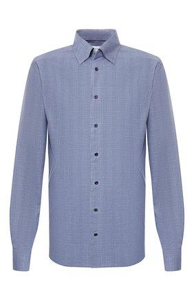 Мужская хлопковая сорочка ETON синего цвета, арт. 1000 00364 | Фото 1