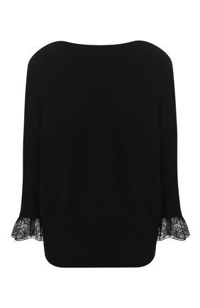 Пуловер из смеси шерсти и шелка   Фото №1