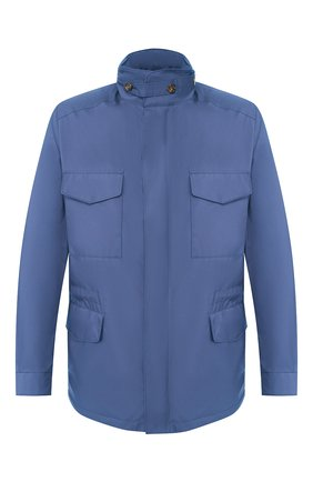 Мужская куртка traveller LORO PIANA синего цвета, арт. FAI1437 | Фото 1