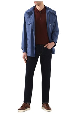 Мужская куртка traveller LORO PIANA синего цвета, арт. FAI1437 | Фото 2