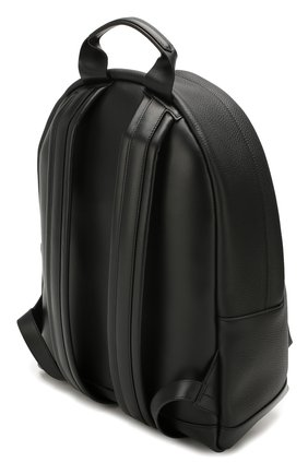 Мужской кожаный рюкзак TOM FORD черного цвета, арт. H0397P-LCL037 | Фото 3