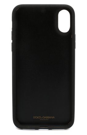 Мужской чехол для iphone x DOLCE & GABBANA черного цвета, арт. BP2408/AK443 | Фото 2