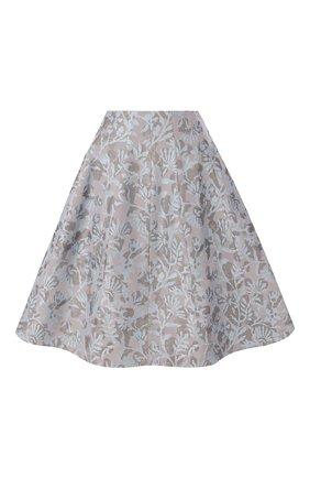 Женская юбка GIORGIO ARMANI голубого цвета, арт. 0SHNN034/T01EN | Фото 1