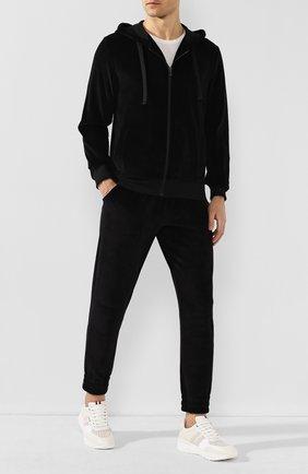 Мужские кожаные кроссовки BALLY белого цвета, арт. BIS0N-T/07 | Фото 2 (Материал внутренний: Натуральная кожа; Подошва: Массивная; Статус проверки: Проверена категория; Стили: Классический)
