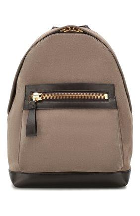 Замшевый рюкзак | Фото №1