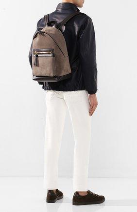 Замшевый рюкзак | Фото №2