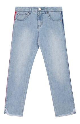 Детские джинсы STELLA MCCARTNEY голубого цвета, арт. 588591/S0K79   Фото 1