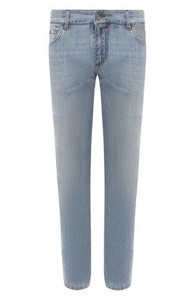 Мужские джинсы DOLCE & GABBANA голубого цвета, арт. GY07LD/G8BZ1   Фото 1