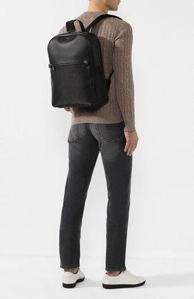 Мужской рюкзак stepan SERAPIAN черного цвета, арт. SSTEPMLL7006M31D | Фото 2